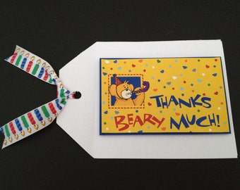 Build A Bear Thank You Note