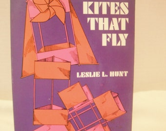 Vintage book Kites That Fly