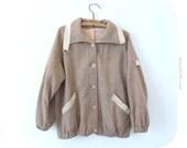 Vintage light brown jacket, vintage light brown coat