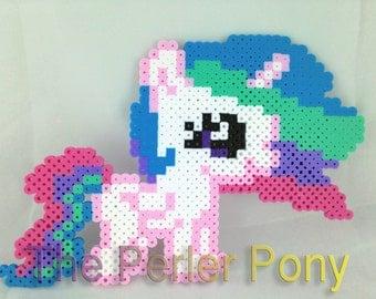 My Little Pony Silly Filly Perler Ponies: Princess Celestia
