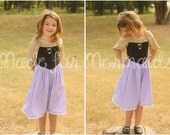 Briar Rose Dress Sleeping Beauty everyday princess PDF Pattern instant download 1/2 to 8