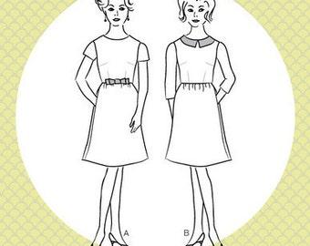 Emery Dress Pattern by Christine Haynes Patterns - Intermediate - Vintage Inspired Dress - Pattern - Dress Pattern - Sewing Pattern