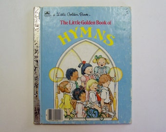 The Little Golden Book of Hymns with Words and Music - Children's Book, Church, Music, Religious, Christian