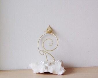 Brass sailboat bookmark, sailboat small sculpture, art object bookmark, Greek sculptures, Greek sailboat