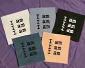 "Sylvia Plath ""I Am, I Am, I Am"" Patch"