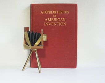 A Popular History of AMERICAN INVENTION - 1924