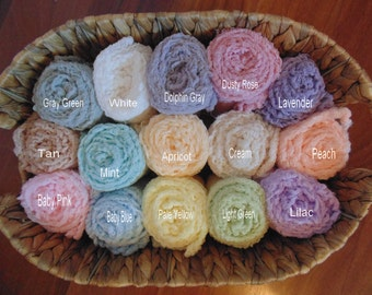 Set of Two Newborn cheesecloth  Photo Wraps. Photography Wraps..Photo Props..Hand Dyed