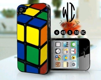 3D puzzle design for  iPhone 4, 4S, 5, 5S and the iPhone 5C