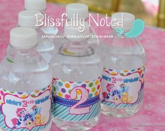 My Little Pony  Water Bottle Labels
