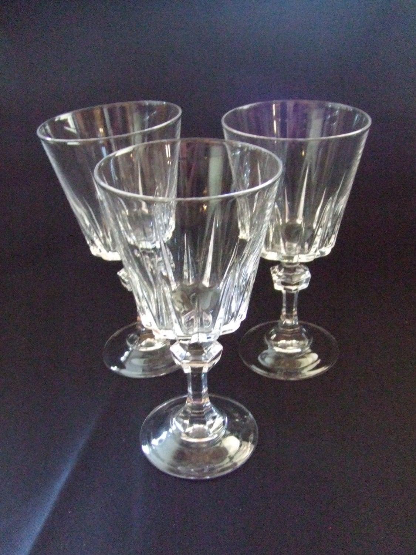 vintage fine crystal wine glasses 3