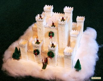 Sugar Cube Castle Pattern
