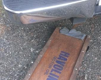 Havoline Motor Oil - Automotive Under Vehicle Creeper Tool, Garage