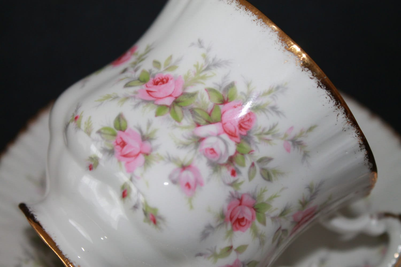 paragon fine bone china demi tasse teacup and saucer sets victoriana rose. Black Bedroom Furniture Sets. Home Design Ideas