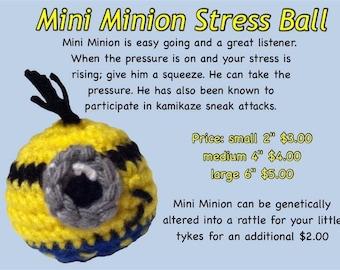 Minion stress ball toy