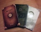 Series of Autographed Rand Miller Myst Books First Edition Hardbacks
