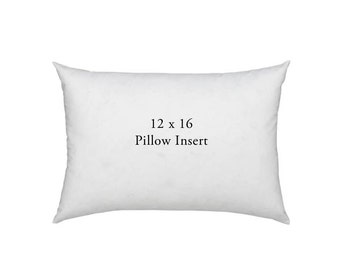 Lumbar Pillow Insert 12x16 - Pillow Insert for Decorative Pillow Covers - Pillow Cushion