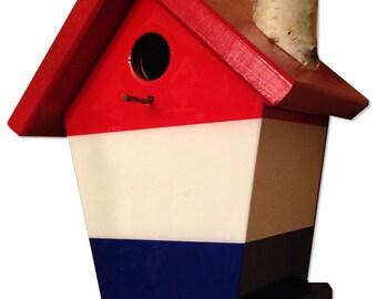 Holland Flag Birdhouse