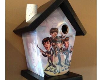 Beatles Birdhouse