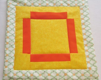 Lil' Ray of Sunshine series mini quilt 1