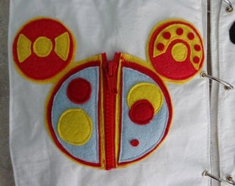 Mickey Mouse Clubhouse Inspired Quiet Book PATTERN