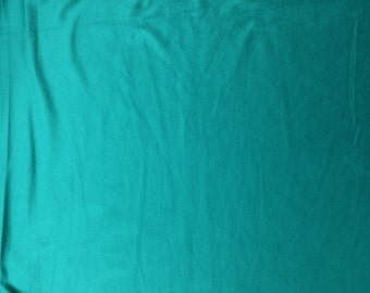 Micro Suede Faux Suede Fabric by the Yard - Turquoise