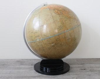 Stunning Art Deco Machine Age Bakelite World Globe - Circa 1938 - TREASURY PICK