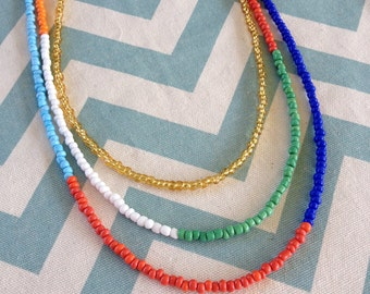 United beaded necklace