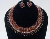 Tutorial - Super Duo Aurora Collar and Earrings