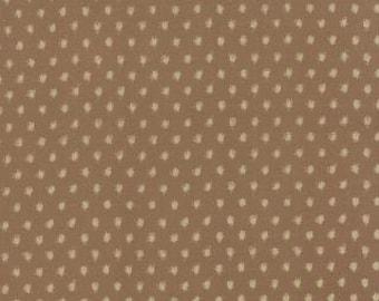 INDIGO, Ikat Dots Khaki by Moda 32903 17