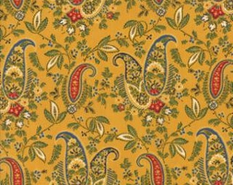 Ala Carte French Paisley   by American Jane for Moda, Yellow, 21660 14