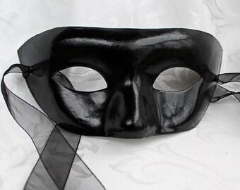 Custom Paper Mache Masquerade Mask, Custom Order Paper Mache Half Mask That You Design
