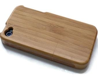 Iphone 4 case / iphone 4S case wood - wood Iphone 4 case bamboo, cherry and walnut wood