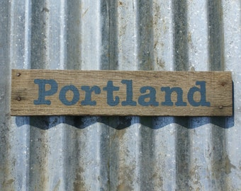Popular items for portland on etsy for Reclaimed wood portland or