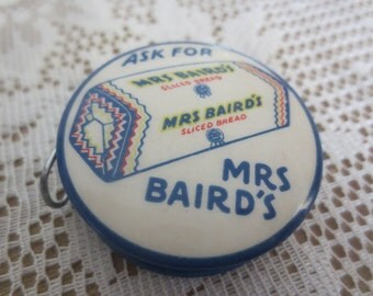 Mrs Baird's Celluloid Tape Measure
