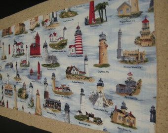 Lighthouse Table Runner