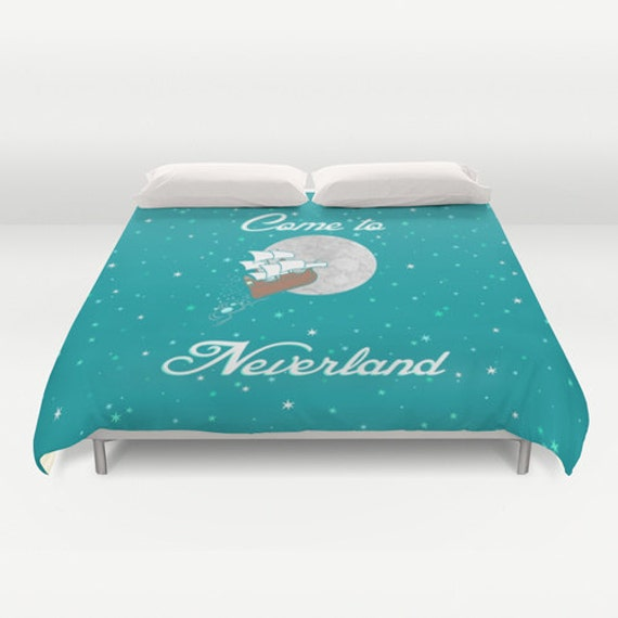 Disney 39 S Peter Pan Come To Neverland Duvet Cover