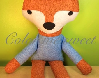 Sweet sly fox, what does the fox say, stuffed toy super cute