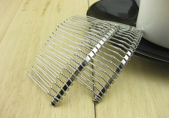 10pcs wedding bridal accessory veil crafts diy wholesale for Metal hair combs for crafts