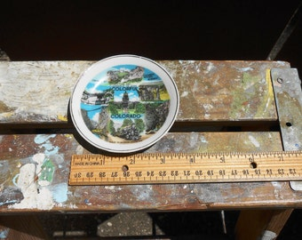 Colorado Souvenir Plate