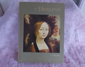 Vintage Horizon Hard Cover Book 1967 Autumn