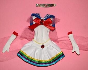 Super Sailor Moon Custom Doll Fuku Fashion/Dress