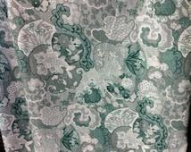 """Vintage Fabric """"Copyright PETER PAN Fabrics Inc."""".(GF0043)"""