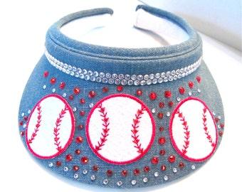 """Baseball Visor """" Show the spirit """" #   3"""