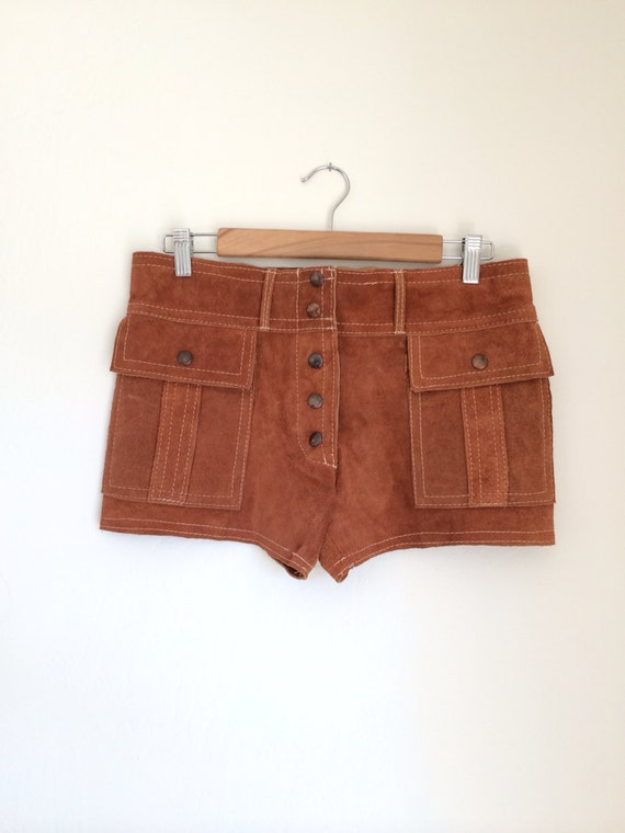 Vintage Sueded Shorts at RoryLaRue Vintage on Etsy