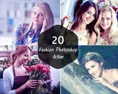 20 Premium Fashion Photoshop Action