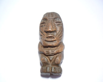 Tribal Man Person God Plaster Made Tropical style Pendant