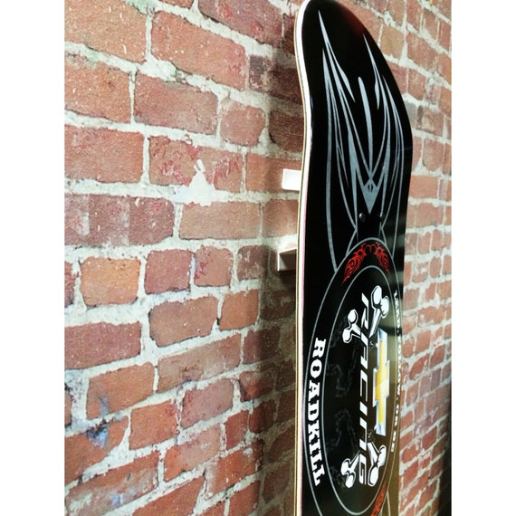 Skateboard Deck Wall Mount Bracket Allows You To By Dkmounts