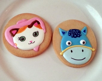Sheriff Callie and Fiends Cookies