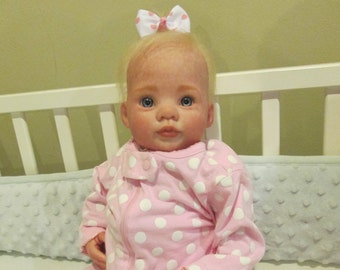 Custom Preemie Reborn Doll, and accessories