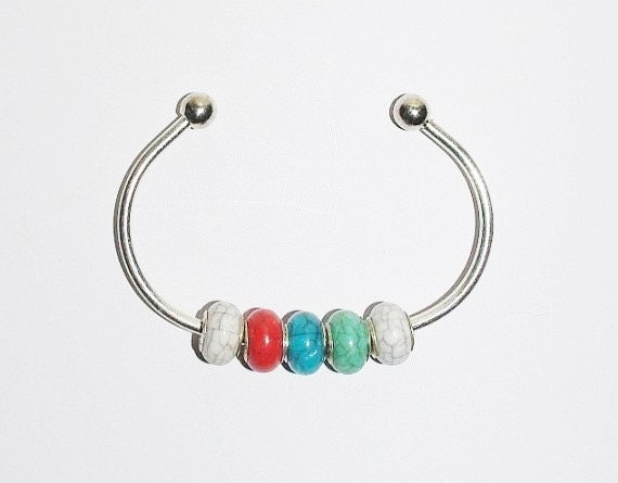 surplus supplies add a bead cuff bracelet and by